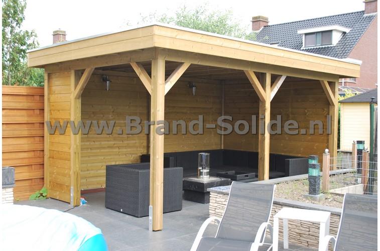 Prieel het meeste complete assortiment prieel van nl onderhoudsvrij en goedkoop houten prieel - Prieel frame van ...