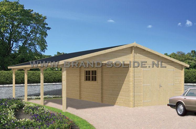 Garage-Carport Berggren | Brand Solide