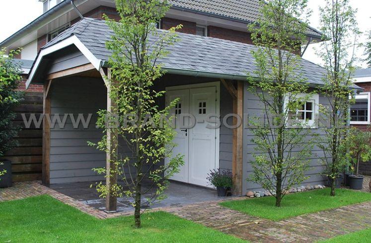 Spiksplinternieuw tuinhuis cottage, tuinhuis met zwart planken, tuinhuis met FH-44