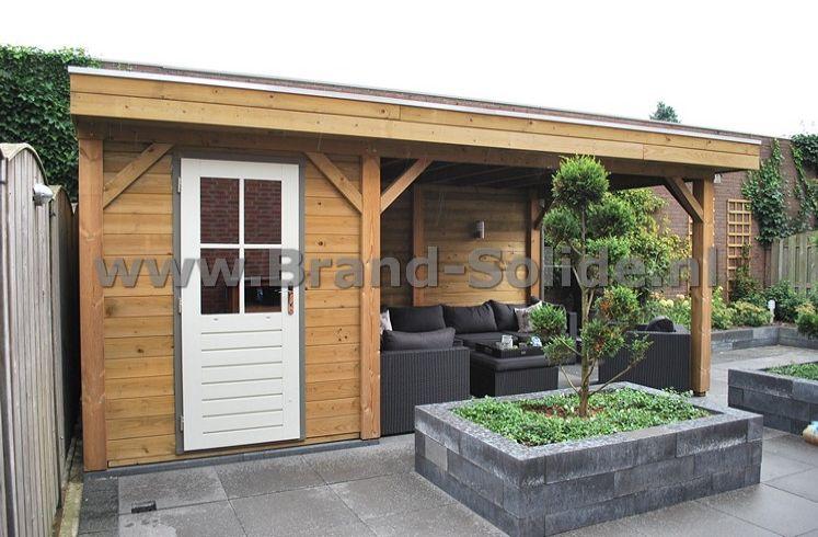 Mordi tuinhuis overkapping patiowoningen hoogstraat heesch keuken 5 meter brugman keukens - Deco tuinhuis ...