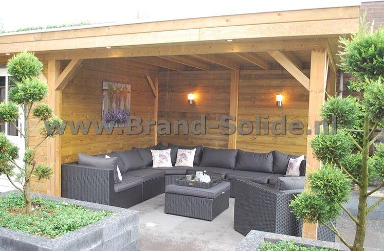 Genoeg Berging + Overkapping 550 x 300 met berging | Brand Solide PI05