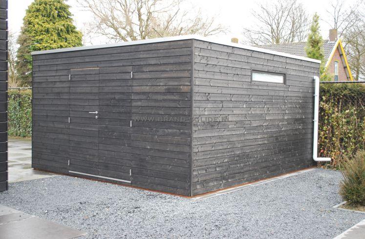 ... Blokhut - Tuinhuis u0026gt; Modern tuinhuis kubus u0026gt; Kubus Domino 400 x 400