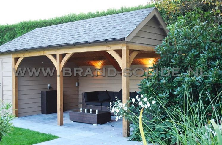 Tuinhuis Cottage Lounge 300 x 200 + overkapping 400 ()