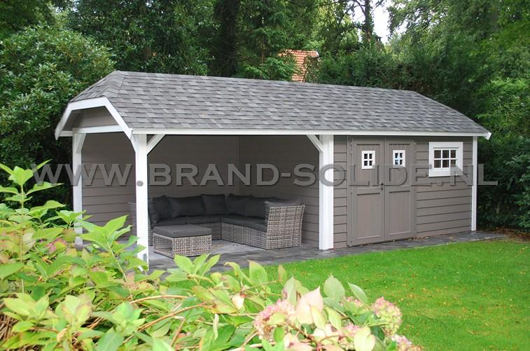 prijslijst tuinhuis cottage met wolfskap ( en overkapping)